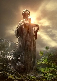 Book Cover, Fantasy, Spiritual, Christian, Cross, Light