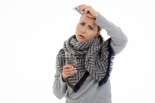Disease, The Common Cold, Flu, Medicine, Health, Shawl
