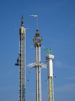 Amusement Park, Fairground, Folk Festival, Fair, Rides