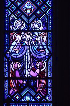 Stained Glass, Window, Church, Colorful, Faith, Glass