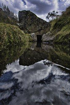 Reflection, Mountain, Landscape, Mountains, Lake
