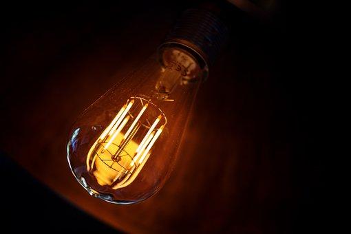 Lamp, Lighting, Bulbs, Light Bulb, Light Piston, Led