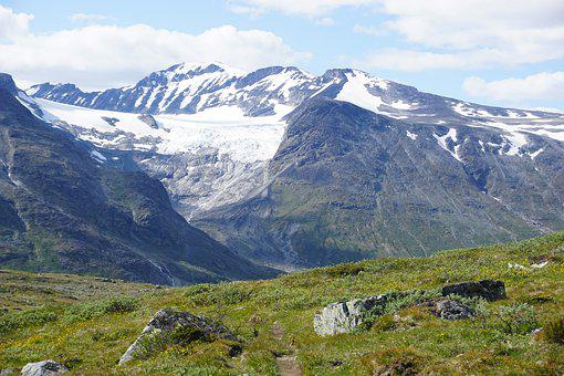 Norway, Jotunheimen, Galdhøpiggen, National Park