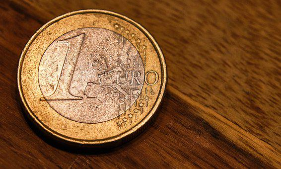 Money, Euro, Coin, Wealth, Poverty, Loose Change