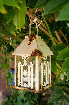 Rust, Lantern, Replacement Lamp, Old, Lighting, Metal