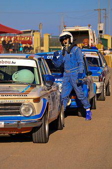 Runner, Automobile, Rally, Car, Old, Racing, Vehicle