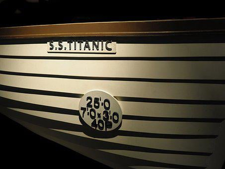 Titanic, Lifeboat, Disaster, Rescue, Boat, Save, Sink