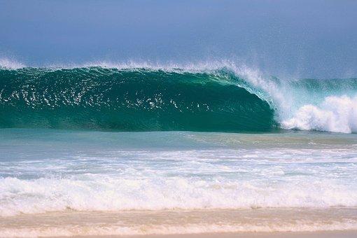 Wave, Ocean, Sea, Beach, Nature, Summer, Scenery