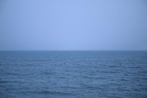 Sea, Blue, Ocean, Water, Nature, Sky, Wave, Coast