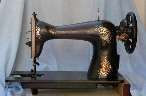 Sewing Machine, Needle, Sewing, Tissue, Sew, Once, We