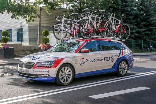 Cycling, Car, Team, Bike, Traffic, Horse, Race, Sport