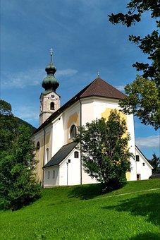 Parish Church, St, Georg, Ruhpolding, Upper Bavaria
