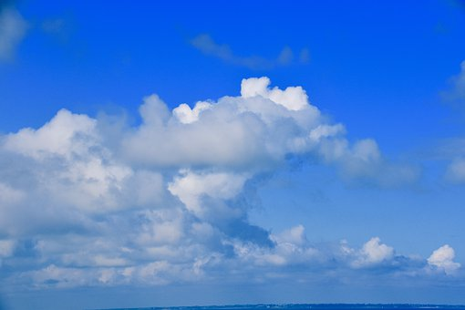 Clouds, Blue Sky, Weather, Atmosphere, Cumulus, Nature