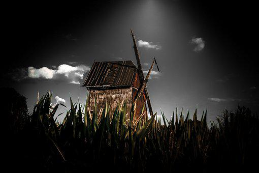 Windmill, Old, Mill, Historically, Architecture, Wind