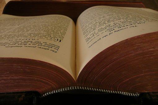 Book, Open, Reading, Literature, Bible, Read