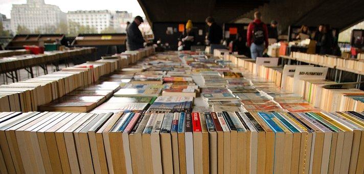 Books, Market, London, Buy, Shop, Store, People, Bridge