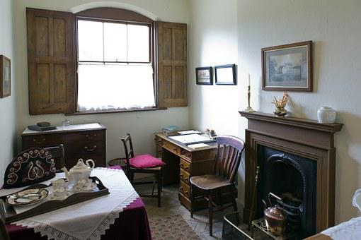 Cook's Office, Victorian, Audley End, Stately Home