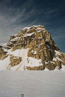 Denali National Park, Control Tower, Rock, Season