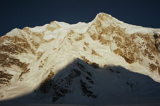 Mountain, Shadow, Alaska, Denali National Park
