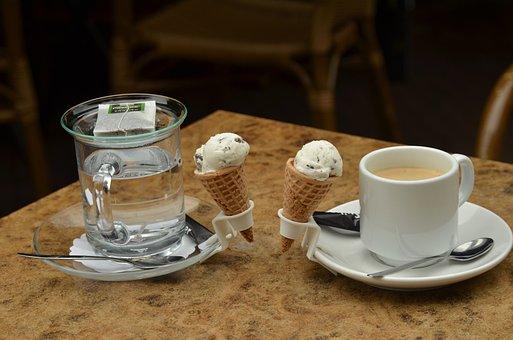 Drink, Drinking, Coffee, Tea, Ice, Ice Cream, Small