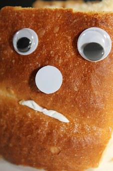 Bread, Face, Grumpy, Snub Nose, Sour, Fig, Eyes, Nose