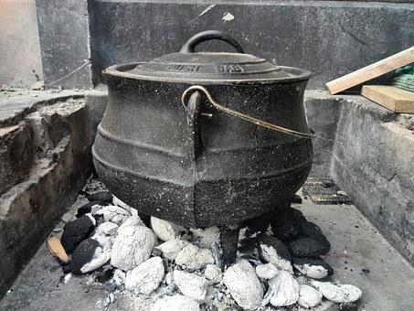 Kettle, Bbq, Food, Barbecue, Fire, Grilled, Flame