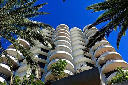 Apartments, High-rise, Balconies, Residential, Condos