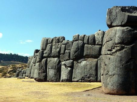 Inca, Wall, Fortress, Ruin, Archaeology, Peru, Cuzco