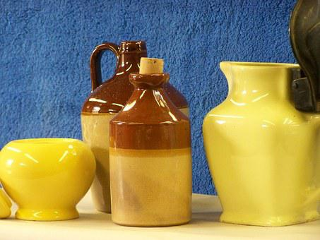Yellow, Jug, Kettle, Glass, Drink, Pitcher, Refreshment
