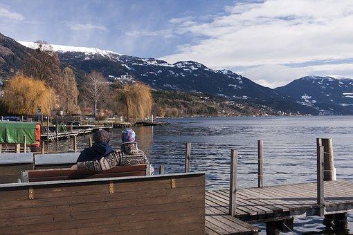 Austria, Lake, Water, Landscape, Nature, Travel, Europe