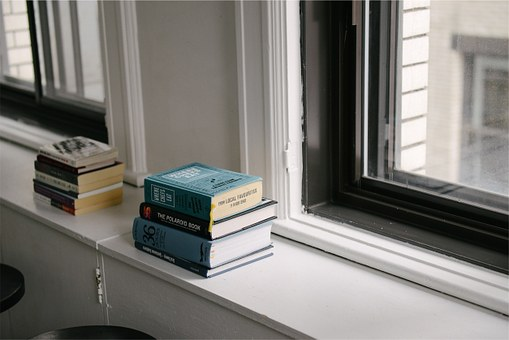 Books, Window, Literature, Reading, Room, Novels