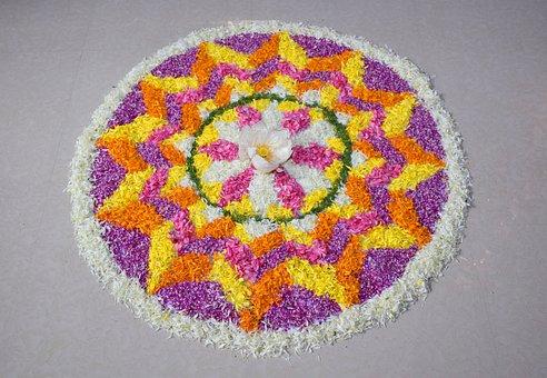 Flower Carpet, Pookalam, Onapookalam
