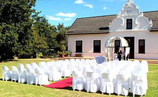 Event, Wedding, Pavilion, Chairs, Pastor, Marriage