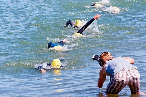 Triathlon, Photographer, A Good Shot