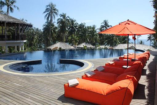 Hotel, Pool, Vacation, Thailand, The Island Of Koh Kood