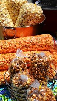 Popcorn, Snack, Fair, Food, Pop, Corn, Salty, Bag