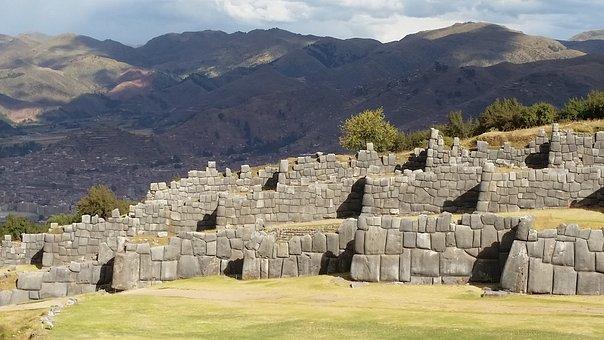 Peru, Sacsayhuaman, Sacred, Scenic, Site, Ruins, Old