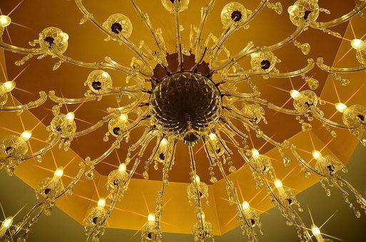 Chandelier, Shining, Candlestick, Lighting