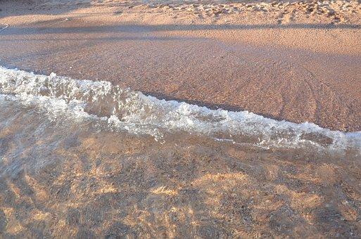 Sea, Water, Sand, Sinai, Sharm Al-sheikh, Red, Blue