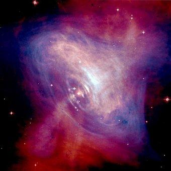 Crab Nebula, Supernova Remnant, Supernova