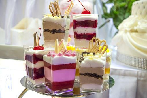 Sweet Dessert, Cakes, Eating, Pastry Shop, Cake, Food