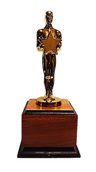 Oscar, The Oscar, Award, Studio, Show, Black, Modern