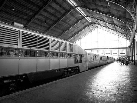 Station, Train, Travel, Hold On, Light, Travelers