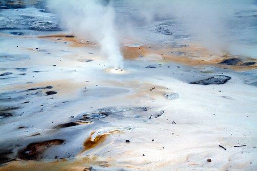 Yellowstone National Park, Wyoming, Mammoth Springs