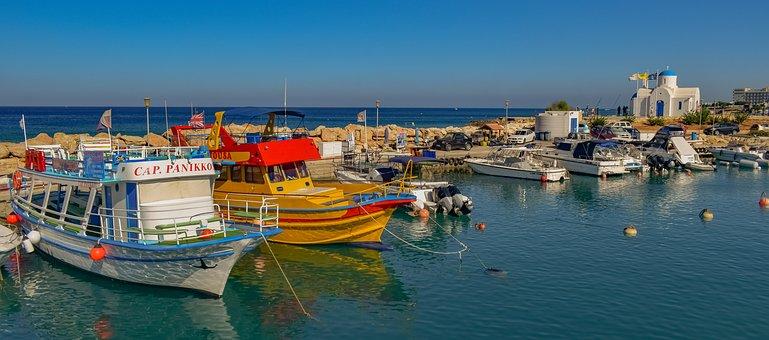 Harbour, Boats, Sea, Travel, Tourism, City, Summer