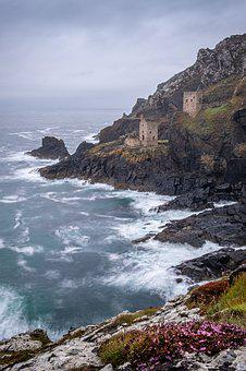 Botallack Mine, Crown Engine Houses, Cornwall