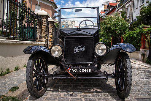 Car, Automobile, Vehicle, Banger, Ford, Old, Ancient