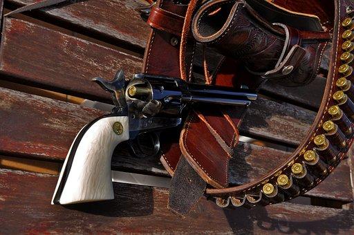 Colt Single Action, Pacemaker, Gun, Guns, Weapon