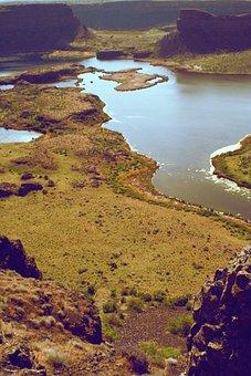Landscape, Snake River, Snake River Lakes, Dam