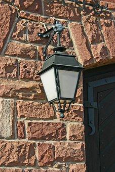 Lantern, Street Lighting, Lighting, Sand Stone